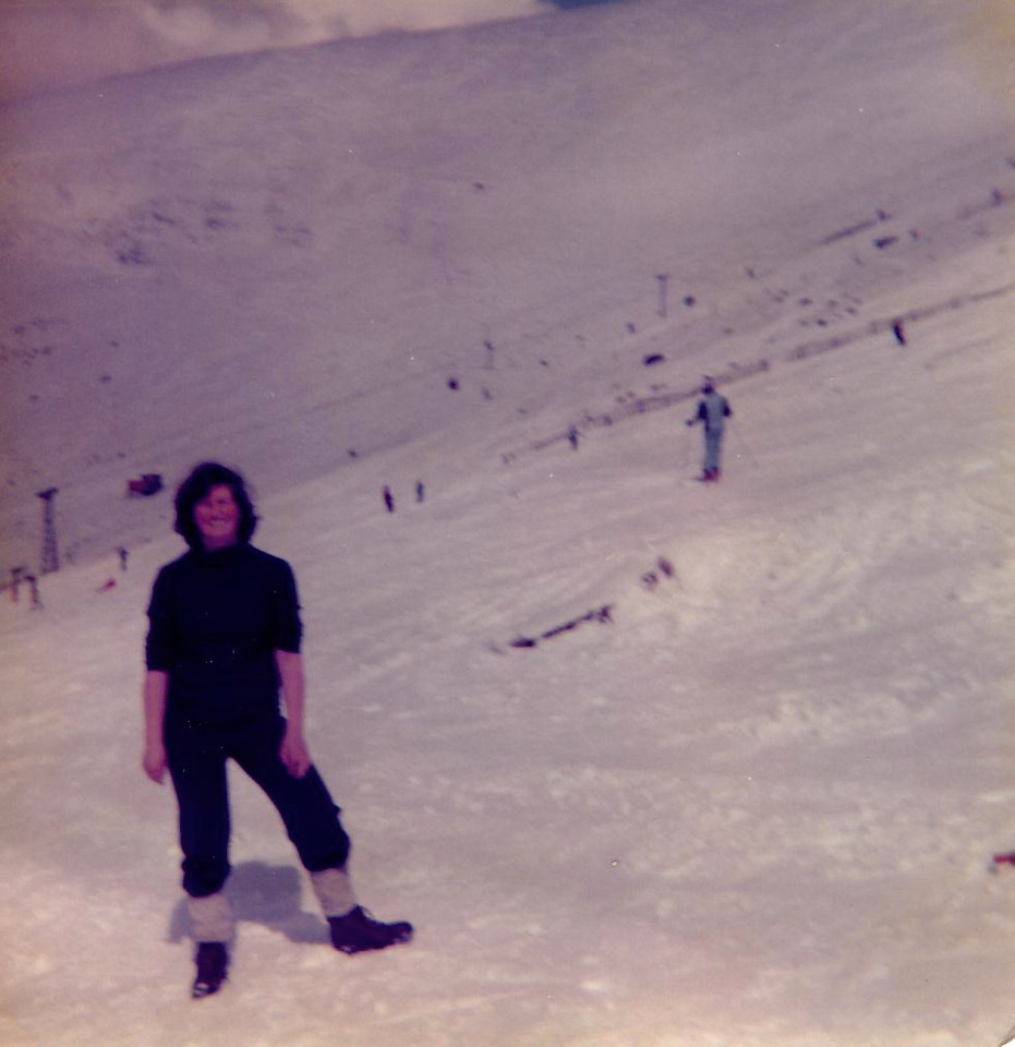 1979 05 Janet Cairngorm 6 May 1979