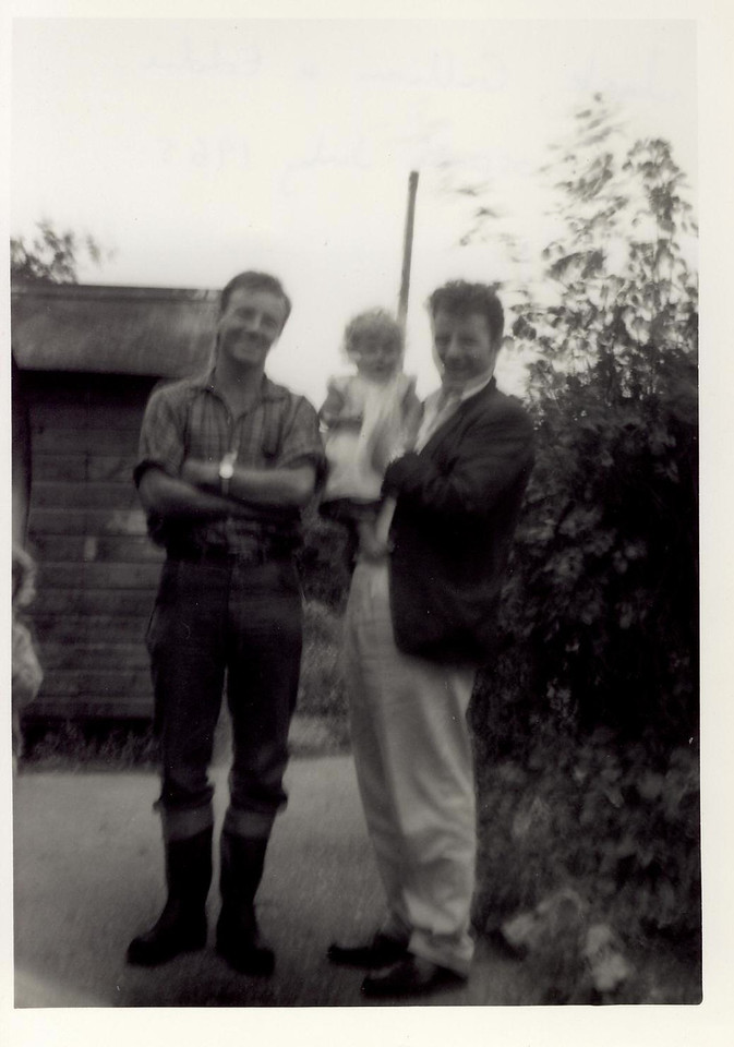 1965 07 Jack Brown, Gillian & Eddie, Gosport July 1965