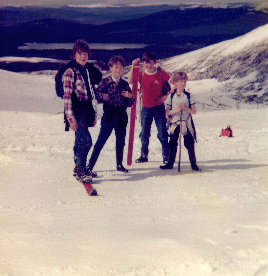 1979 05 Brian Kenny James Alan Cairngorm 6 May 1979