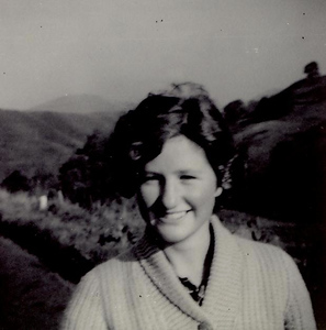 1960 09 Janet, Glendevon, September 1960