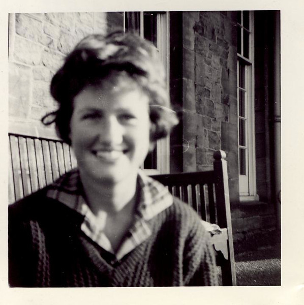 1962 Janet, hostel, Edinburgh 1962