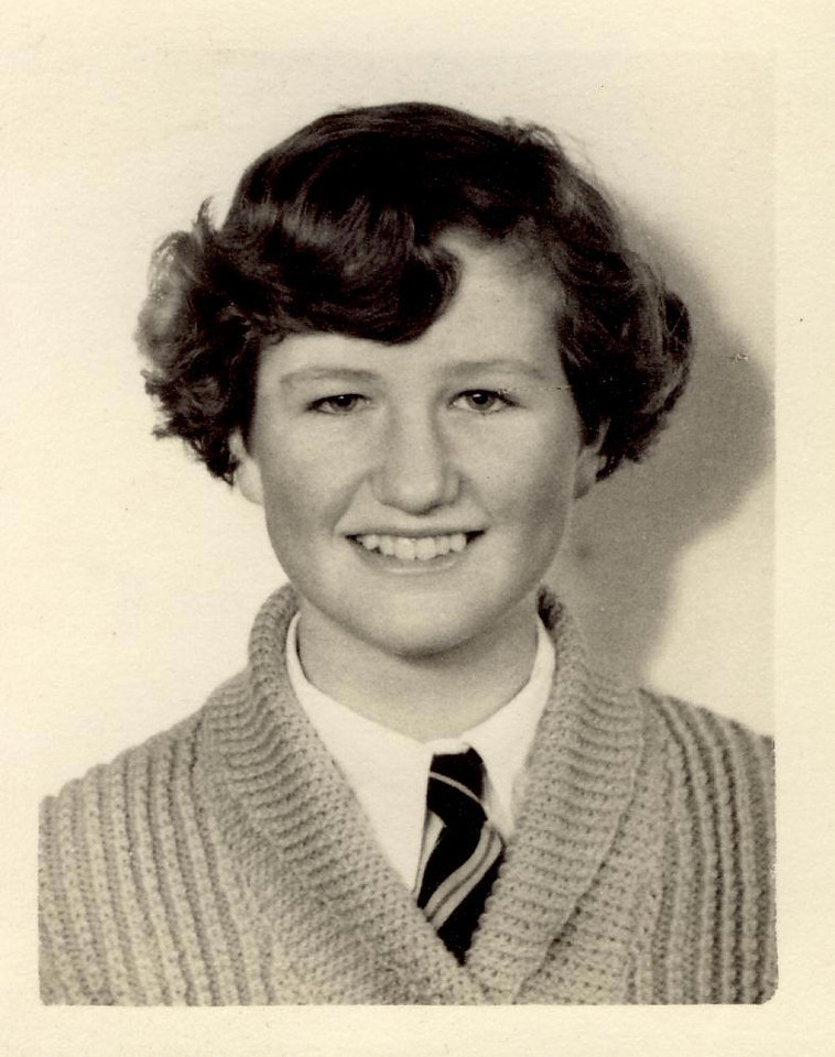 1959 Janet Williamson, 16 yrs  old 1959