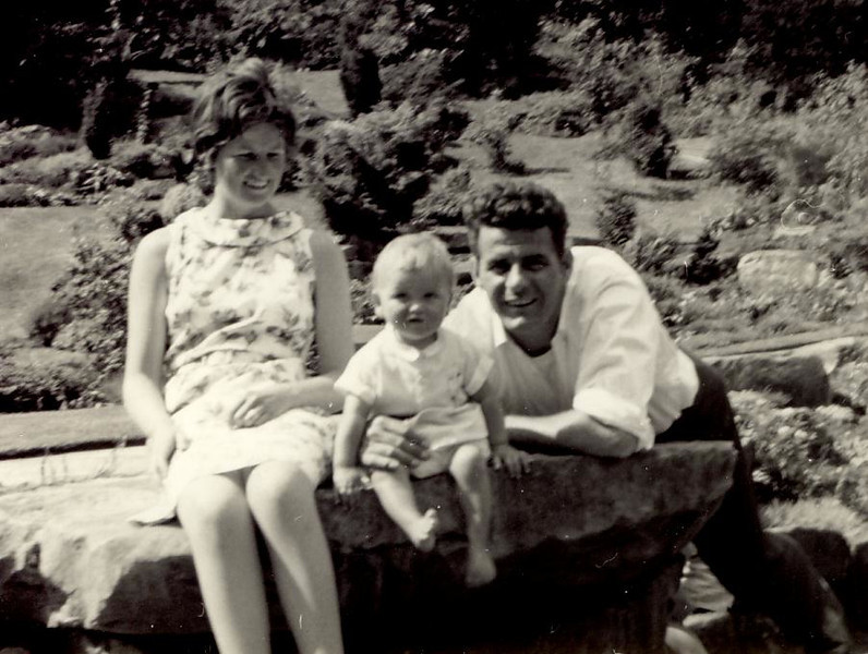 1966 07 Janet, Brian & Eddie, July 1966