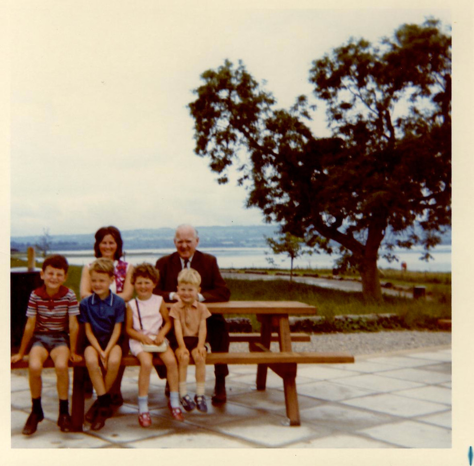 1973 07 Brian Kenny Ann Alan Janet U Lawr Chew Lake July 1973