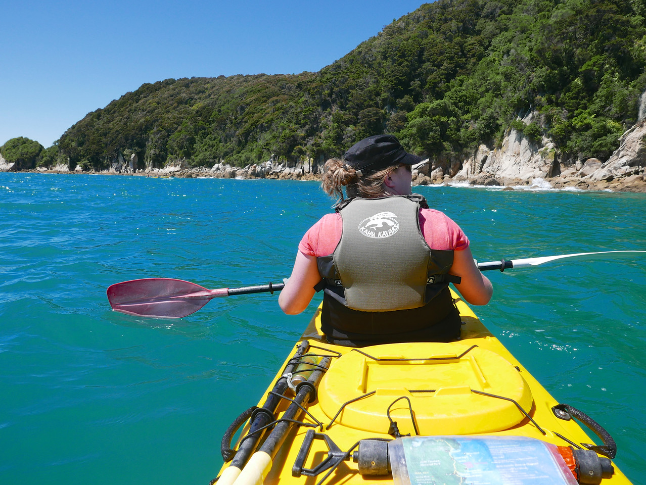 Kim Abel Tasman Kayaking January 2016