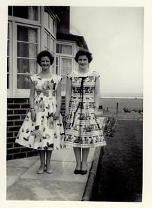 1959 Janet & Pat, Scotland Terrace 1959-60