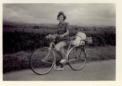 1959 07 Janet Williamson, nr  Fintry, 6 July 1959