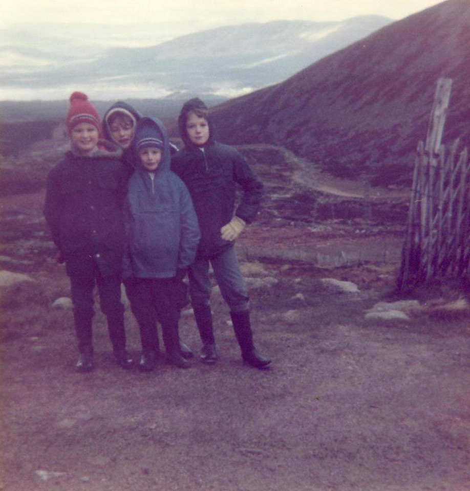 1978 10 Ann Brian Alan Kenny Cairngorm 17 October 1978