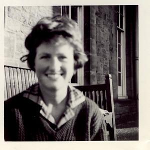 1962 Janet, hostel, Edinburgh 1962