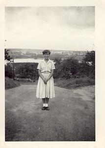1957 08 Janet Willaimson Blagdon, August 1957