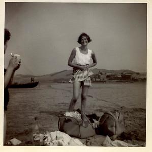 1956 Janet Willaimson, Sandbank River Tay 1956