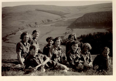 1955 07 Janet Willaimson Guide Camp, July 1955